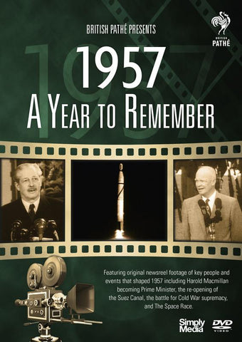 A Year To Remember 1957 (DVD) cover image