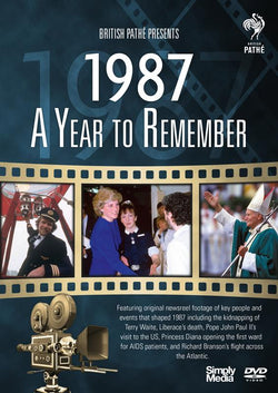 A Year to Remember 1987  (DVD) cover image