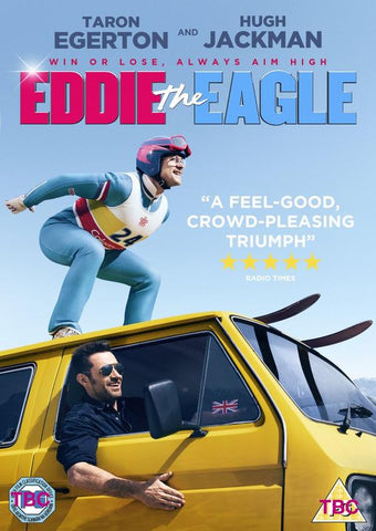 Eddie The Eagle  [2016] (DVD) cover image