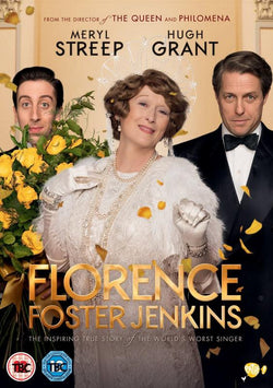Florence Foster Jenkins (DVD) cover image