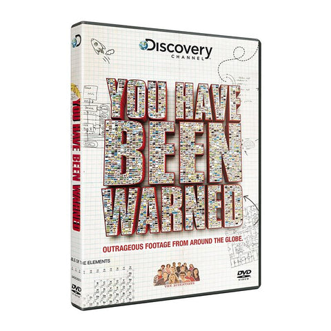 You Have Been Warned [DVD].CoverImg
