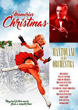 Memories of Christmas with Mantovani and his Orchestra  (DVD) cover image