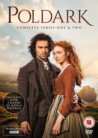 Poldark Series 1-2 (DVD) cover image
