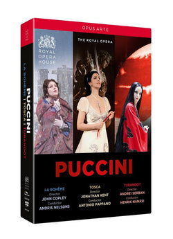 Puccini:Box Set [Various,Various] [OPUS ARTE : DVD] [2015] (DVD) cover image