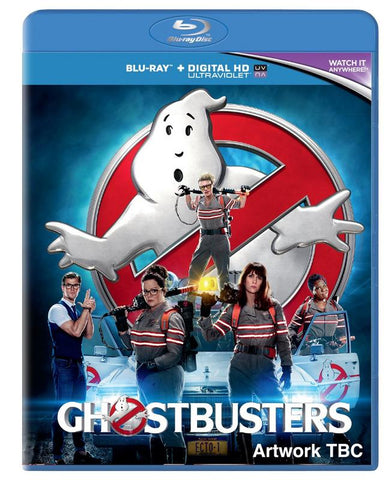 Ghostbusters  [2016] (BLU-RAY) cover image
