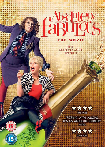 Absolutely Fabulous: The Movie (DVD) cover image