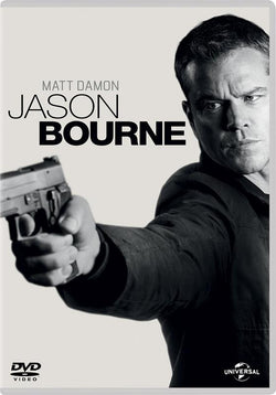 Jason Bourne [DVD + Digital Download] [2016] (DVD) cover image