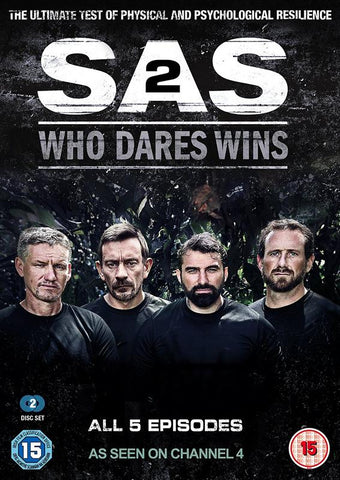 SAS: Who Dares Wins Series Two  (DVD) cover image
