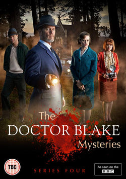 The Doctor Blake Mysteries - Series 4  [2016](DVD) cover image