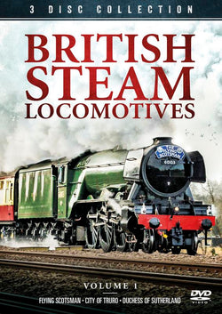 British Steam Locomotives  (DVD).CoverIMG