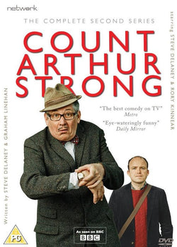 Count Arthur Strong: Complete Second Series (DVD).Cover Image