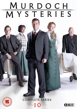Murdoch Mysteries - Series 10  (DVD).CoverIMG