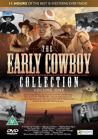 The Early Cowboy Collection: Volume One (DVD)