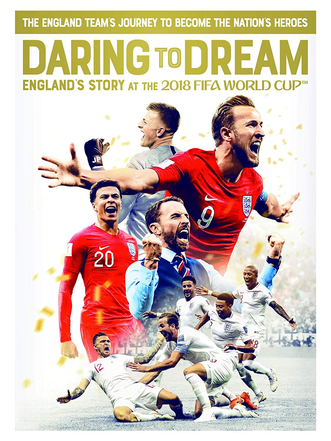 Daring to Dream: Englands Story at the 2018 FIFA World Cup (DVD)