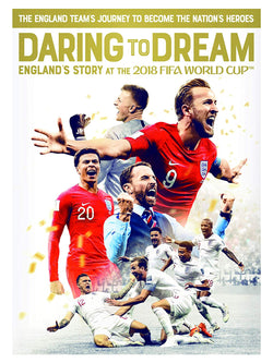 Daring to Dream: England's Story at the 2018 FIFA World Cup (DVD)