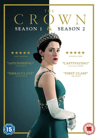 The Crown Season 1 and 2 (DVD)