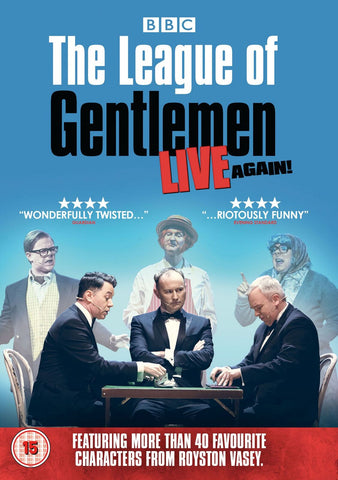 The League of Gentlemen - Live Again! (DVD)