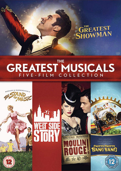 Greatest Musicals Five Film Collection (DVD)