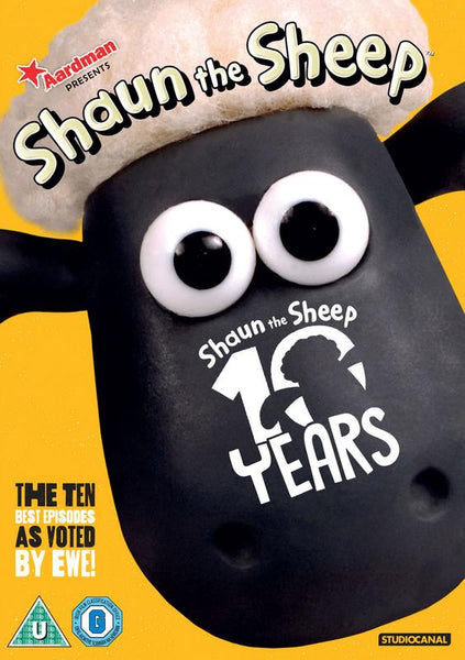 Shaun the Sheep Best of 10 Years (DVD)