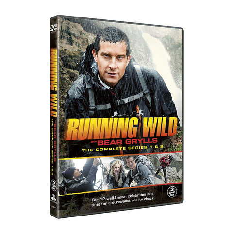 Bear Grylls Running Wild: Seasons 1 & 2(DVD)