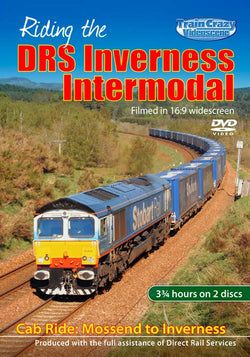 Riding the DCR Scrap Train – Cardiff to Derby (DVD)