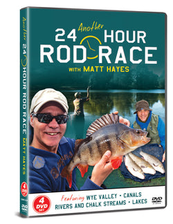 Matt Hayes: Another 24 Hour Rod Race 4 DVD Gift Set