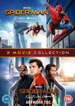 Spider-Man: Homecoming & Far From Home (DVD)