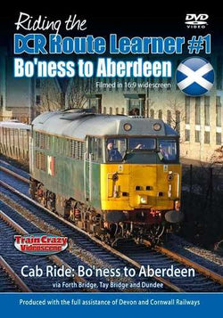 Riding the DCR Route Learner No.1 - Bo'ness to Aberdeen (DVD)