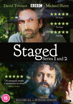 Staged - Series 1 & 2 (DVD)