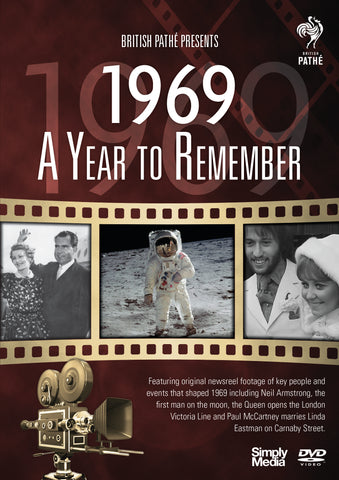 A Year to Remember 1969 (DVD)