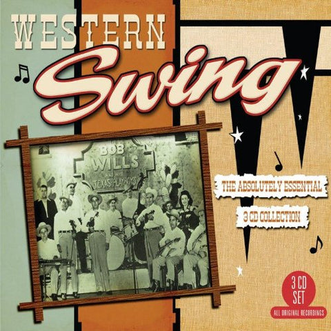 Western Swing: The Absolutely Essential 3 CD Collection Box set (CD)