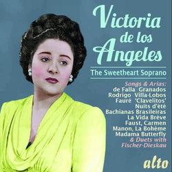 Victoria de los Angeles: The Sweetheart Soprano (CD) cover image