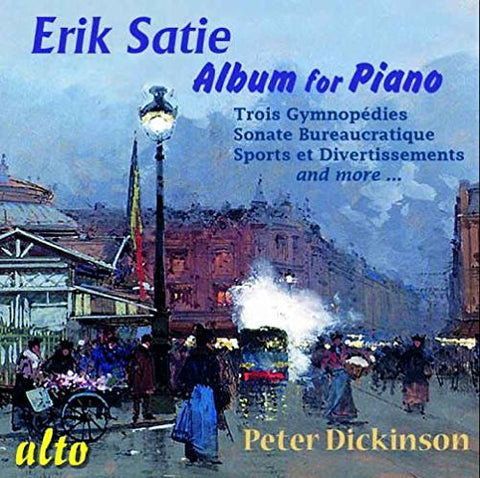 Erik Satie: Album For Piano (CD) cover image