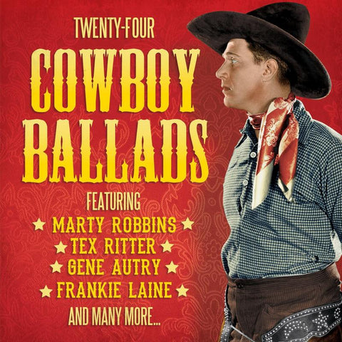 Twenty-Four Cowboy Ballads.CoverImg