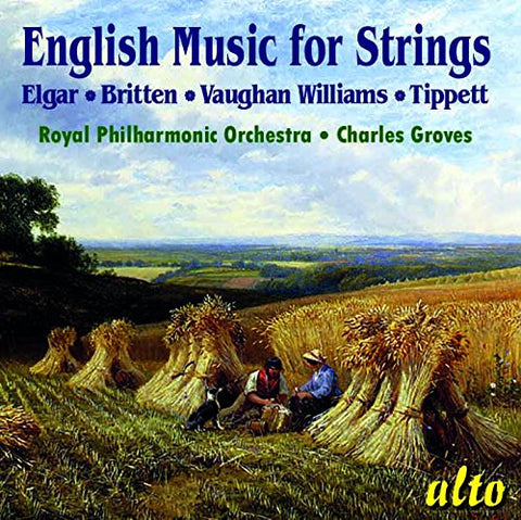 English Music For Strings (CD) cover image