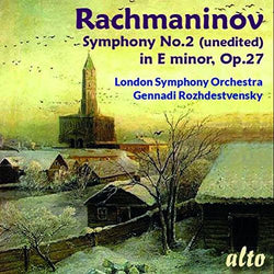 Rachmaninov - Symphony No. 2 (unedited) (CD).CoverIMG