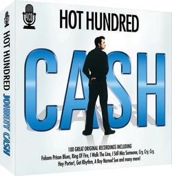 Hot Hundred - Johnny Cash Box set (CD) cover image