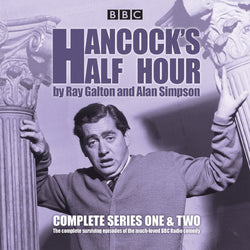 Hancock's Half Hour: Complete Series One & Two: 1-2 Audio CD  Audiobook, CD, Unabridged (CD) cover image