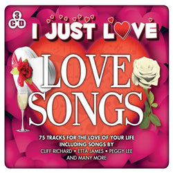 I Just Love: Love Songs (CD) cover image