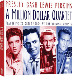 Presley, Cash, Lewis, Perkins: A Million Dollar Quartet (CD) cover image