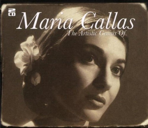 The Artistic Genius Of Maria Callas (CD) cover image