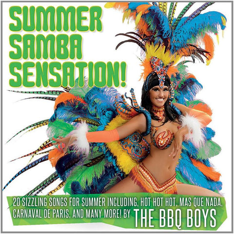 Summer Samba Sensation - World Cup 2014.CoverImg