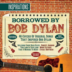 Borrowed By Bob Dylan-Inspirations (CD) cover image