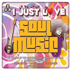 I Just Love Soul Music (CD) cover image