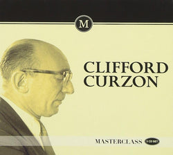 Clifford Curzon - Masterclass Box set (CD) cover image