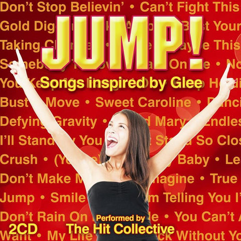 Jump!/Songs Inspired By Glee (CD) cover image