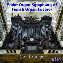 Widor - Organ Symphony No. 5: Organ Encores (CD)