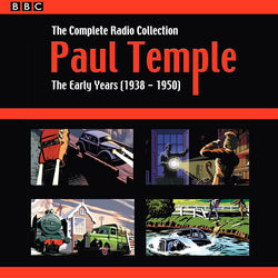 Paul Temple: The Complete Radio Collection: Volume One: The Early Years (1938-1950) (CD).CoverIMG