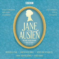 The Jane Austen BBC Radio Drama Collection: Six BBC Radio full-cast dramatisations Audio CD  Abridged, Audiobook, CD (CD) cover image