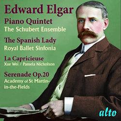 Piano Quintet; The Spanish Lady; La Capricieuse; Serenade Op. 20 (CD) cover image